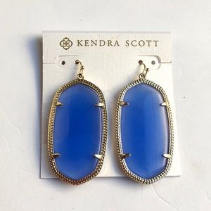 🆕Kendra Scott Periwinkle Danielle Earrings